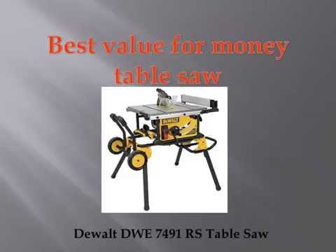 Best Table Saw Reviews - 2016