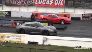 Nissan GTR (R35) Drag Races! | 1080p