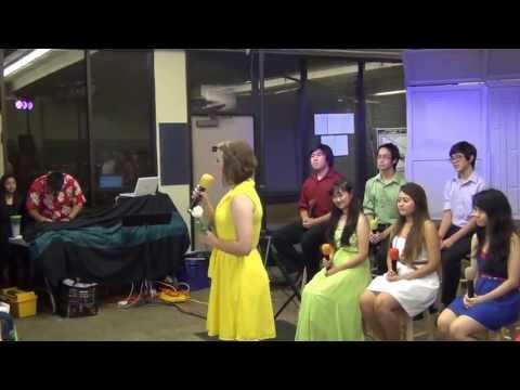 Hawaii Baptist Academy seniors sing a Disney medley