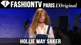 Model Hollie May Saker | Beauty Trends for Spring/Summer 2015 | FashionTV