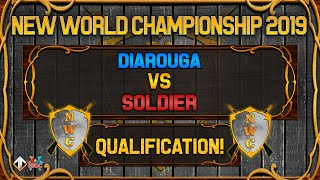 [AoE3] NWC! Diarouga vs SoldieR [QUALIFICATION SERIES] - New World Championship Qualifiers