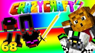 Minecraft CRAZY CRAFT 3.0 - ROYAL GUARDIAN Dungeon (Royal Guardian Sword + Queen Scale Armor) #68