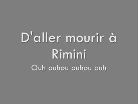 Les Wampas - Rimini Lyrics/Paroles