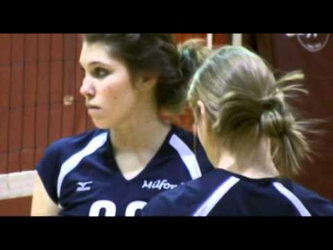Milford High School (NH) Spartans Girls Volleyball 2011