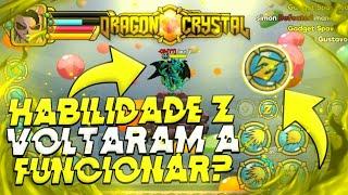HABILIDADES Z DO DRAGON CRYSTAL VOLTARAM A FUNCIONAR?! + CÓDIGO AZUL ESPECIAL « Tigre »
