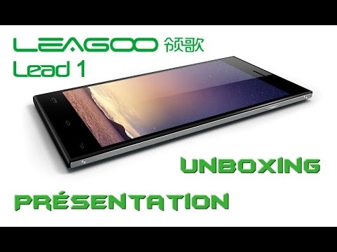 Unboxing - LEAGOO Lead 1