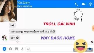 126NET Team || Troll gái xinh lời bài hát WAY BACK HOME và cái kết
