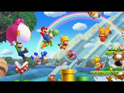 GameSpot Reviews - New Super Mario Bros. U