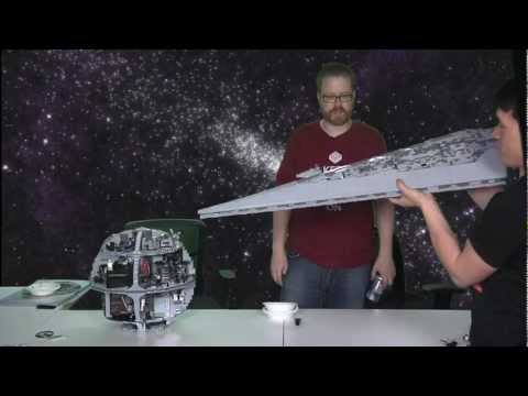 LEGO Super Star Destroyer VS. LEGO Death Star