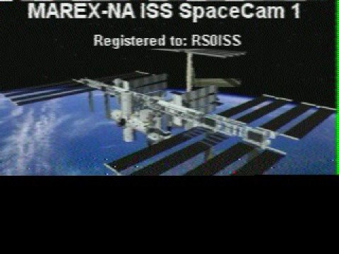 SSTV Video From The International Space Station