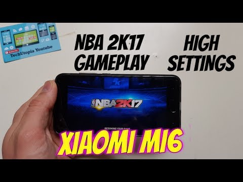NBA 2K17 Gameplay on Xiaomi Mi6/SNapdragon 835/Adreno 540(High Graphics/Maxed)Android