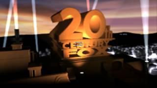 Twentieth Century Fox logos Remastered In Blender