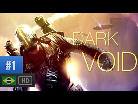 JETPACK, ACIDENTE E ROBOS   Dark Void Gameplay pt-br parte 1