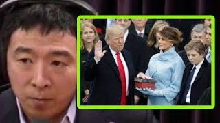Donald Trump's Election Was Really About Economics | Joe Rogan and Andrew Yang