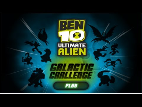 Cartoon Network Games: Ben 10 Ultimate Alien - Galactic Challenge
