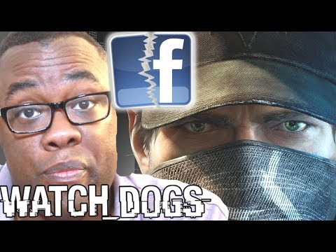 MY FACEBOOK HACKED! Watch Dogs Digital Shadow : Black Nerd