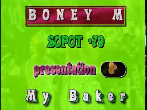 BONEY M. - SOPOT FESTIVAL 1979 Music Videos