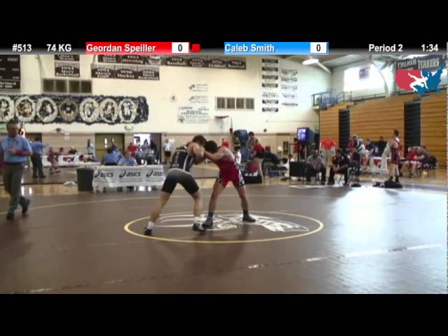 FILAJR WTT: 74 KG Geordan Speiller (Florida Jets) vs. Caleb Smith (Unattached)