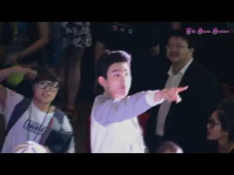 [FanCam] 140824 GOT7@Siam Paragon Jr. Jinyoung Blowing kiss