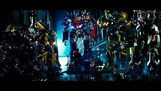 Transformers 1 Autobots Arrival Scene