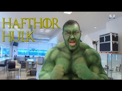 The Mountain Hafþór shows up as Hulk to a 3 year old birthday party