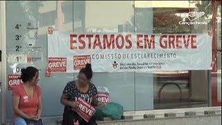 Trabalhadores participam de greve geral em várias cidades do país