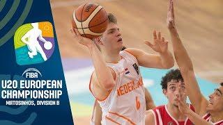 Sweden v Netherlands - Full Game - FIBA U20 European Championship Division B 2019