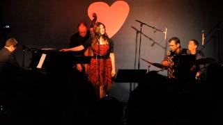 """Love me like a river does"" Halie Loren with Sergei Teleshev at the Jazz Station"