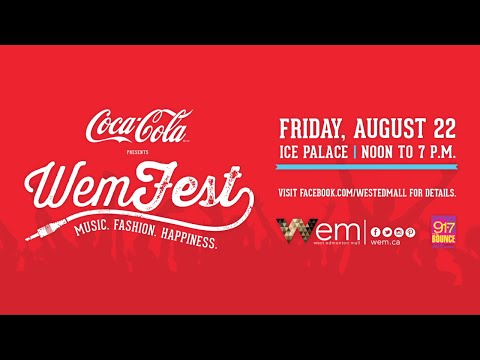 Coca-Cola Presents WEMFest - August 22