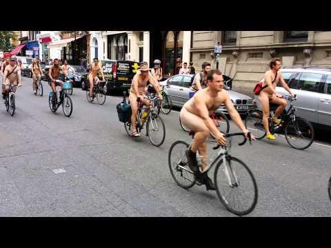 London nude bike ride 2014