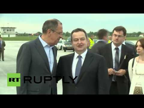 Serbia: Lavrov lands in Belgrade for bilateral talks