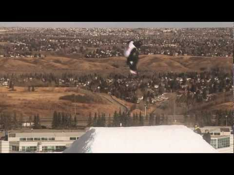 TTR Burton Canadian Open 2012 - Check The Course With Ty Walker