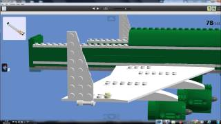 How to build a lego cargo plane 2014 version