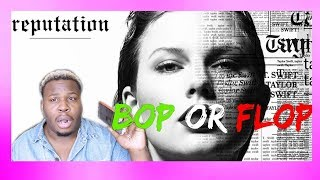 "Download Lagu TAYLOR SWIFT ""REPUTATION"" ALBUM REACTION! (IS IT A BOP!?)