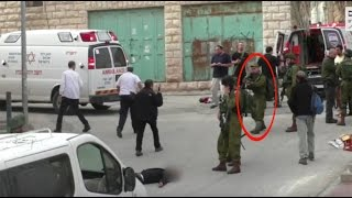 IDF soldier executes wounded Palestinian stabbing attacker (GRAPHIC)