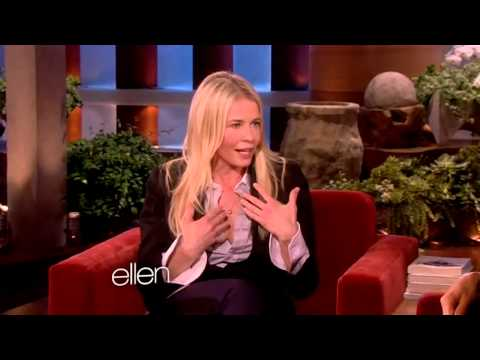 Chelsea Handler on The Ellen Show. February 18, 2013.