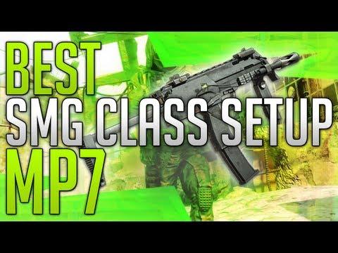 Black Ops 2: BEST SMG CLASS SETUP! - MP7 (87-1)