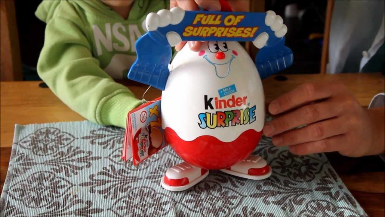 Mega Kinder Surprise Egg