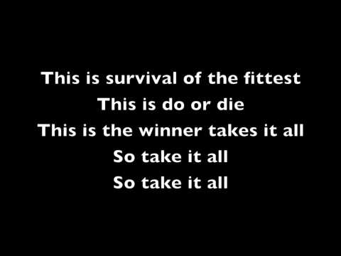 Eminem- Survival Lyrics video