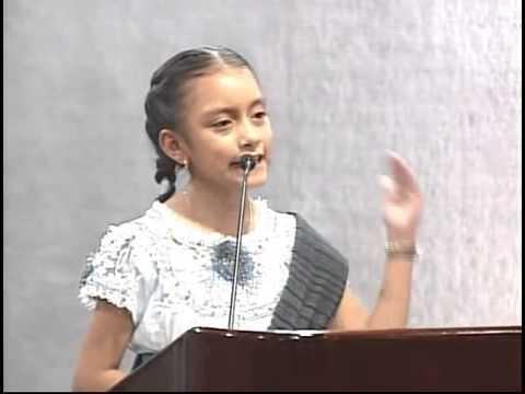 Discurso de niña orgullosamente indígena sorprende en Nuevo León