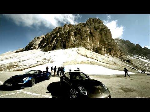 За кадром - Новая 911 Carrera