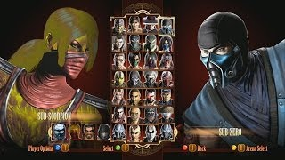 Mortal Kombat 9 Fatalities & Mods
