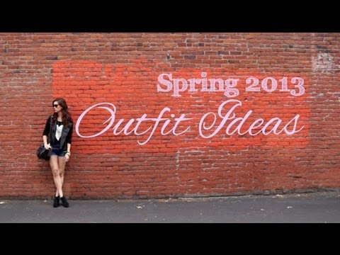 Spring Lookbook and Outfit Ideas!! 2013