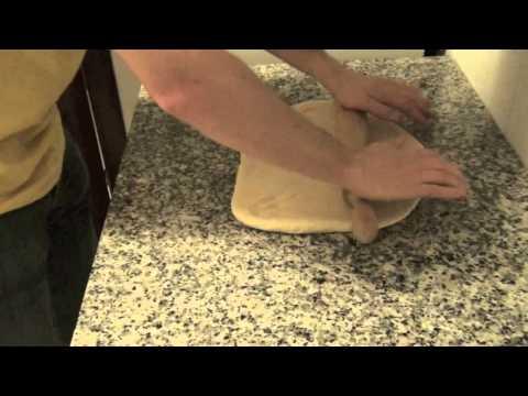 Receta de pan relleno (de jamon y queso) - A Los Fogones