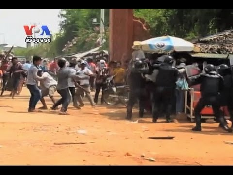Workers on Strike and Police Injured in Clashes