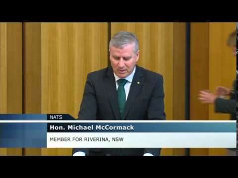 Michael McCormack praises military effort in Middle East