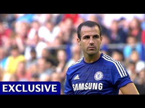 Cesc Fabregas' first Chelsea FC goal