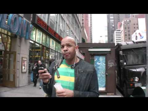 Asking New Yorkers what song they're listening to