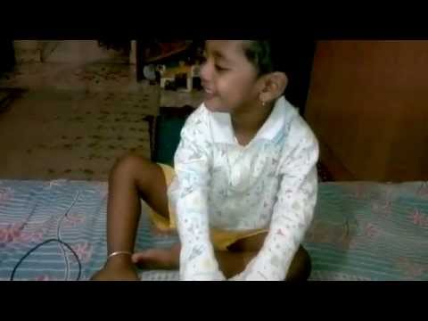 Tanmay Singing Angai Geet (lullaby ) video