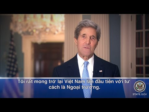U.S. Secretary of State John Kerry is Coming to Vietnam.